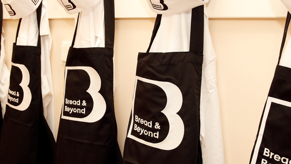 Bread and Beyond baking aprons