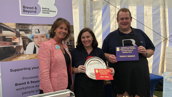 Accolade on debut appearance at county show